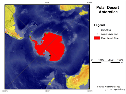 Polar Desert Antarctic SMALL